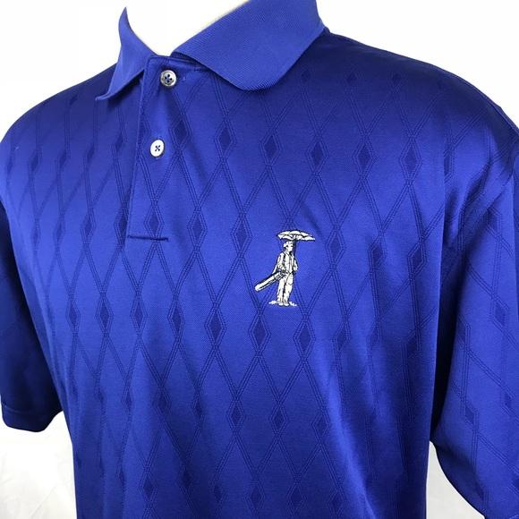Adidas Golf ClimaCool Azul camisas polo geográfico poshmark SS